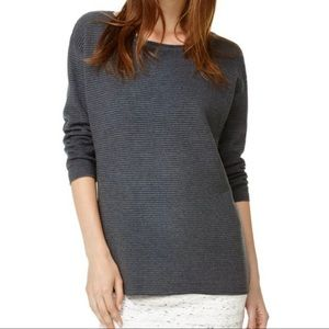 Wilfred Blanchard Ribbed Textured Linen Sweater S